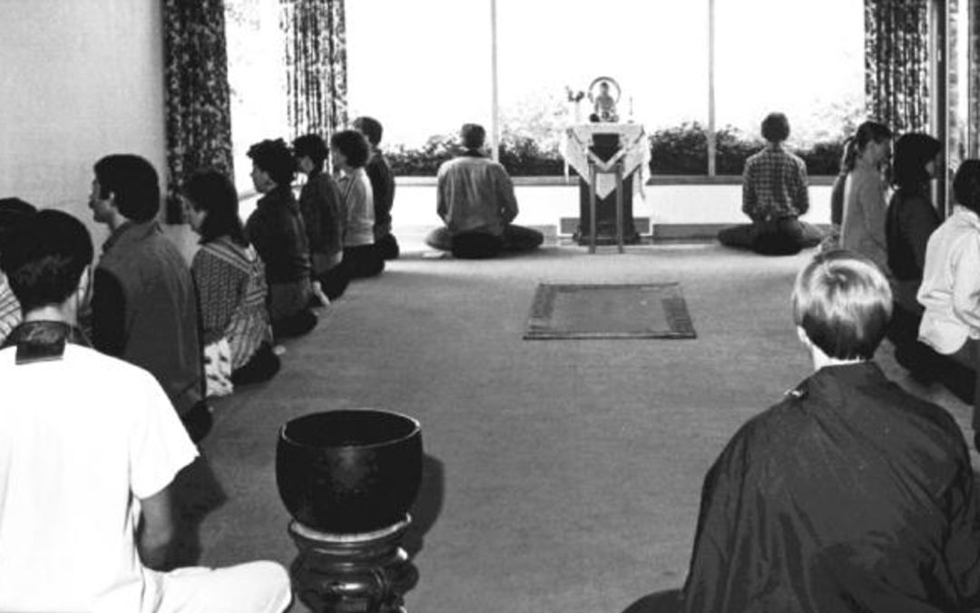 21 – Sesshin: 24-7 Silent Meditation Retreats