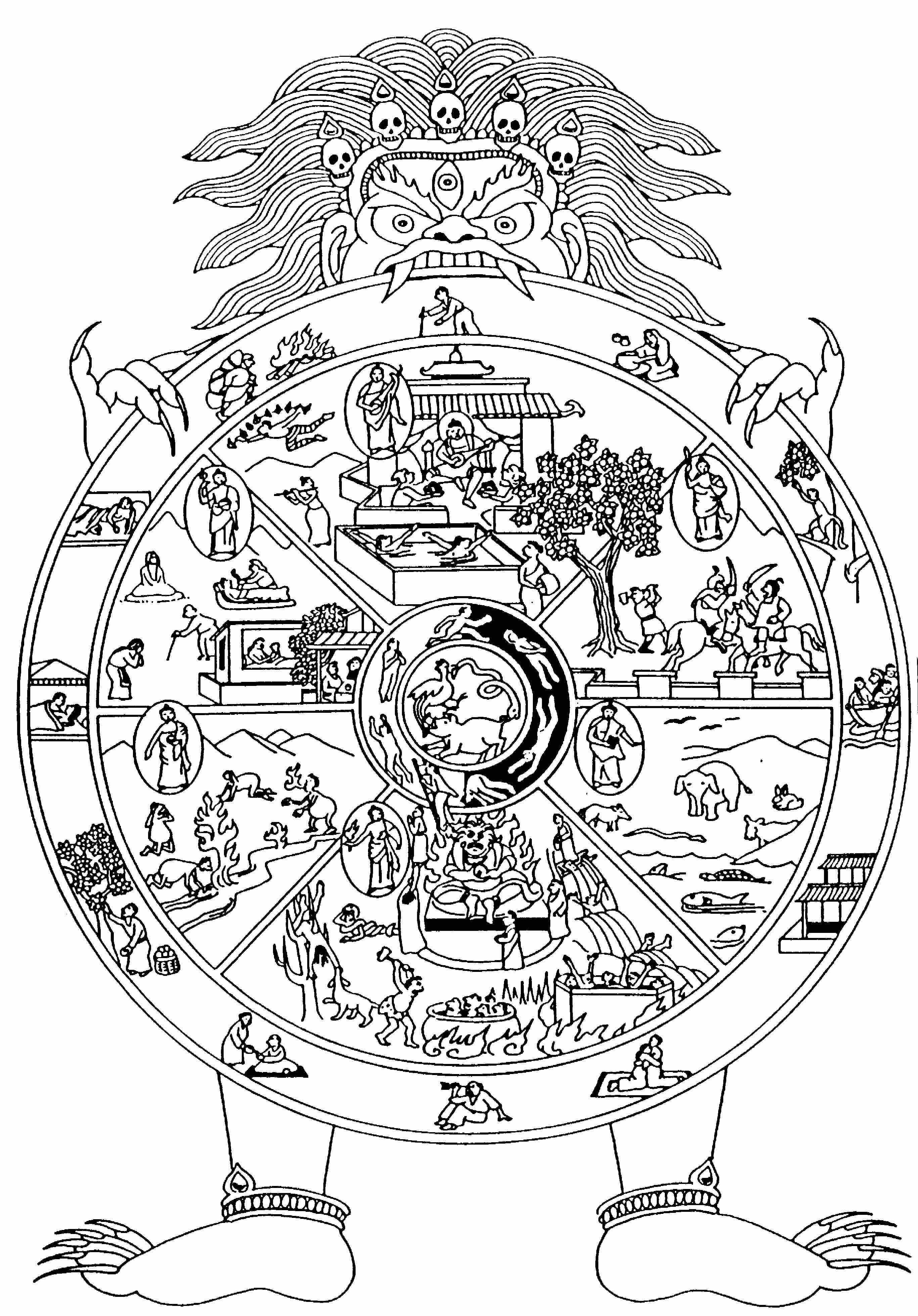 30 Six Realms Of Existence Part 2 Asura Beast And Hell Realms